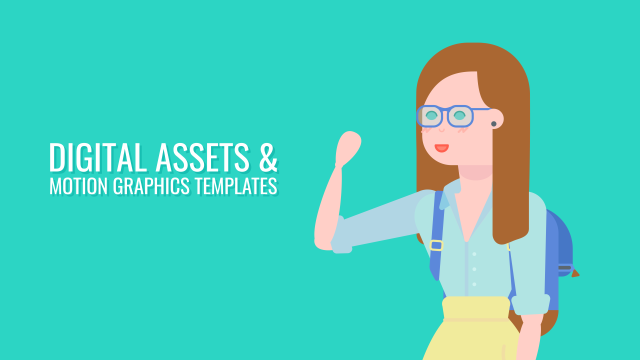 Motion Graphics Templates & Digital Assets - Fully Customisable and Responsive Templates, Digital Assets for Your Video Production Needs, Animated PNG