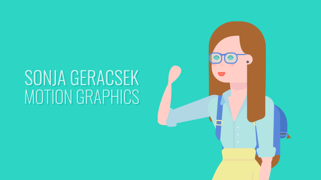Sonja Geracsek Motion Graphics - Helping Brands Connect With Audiences Through Quirky Motion Graphics, Animated PNG