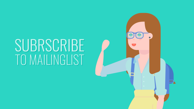 Sunscribe to Mailinglist - Join The Class of Thousands Of Creatives, Receive Exclusive Subscriber Perks, Animated PNG