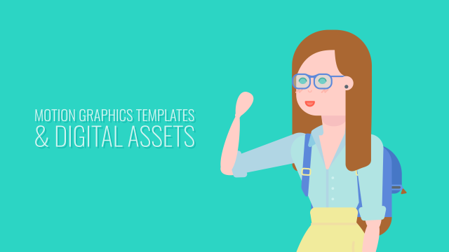 Motion Graphics Templates & Digital Assets - Fully Customisable and Responsive Templates, Digital Assets for Your Creative Needs, Animated PNG