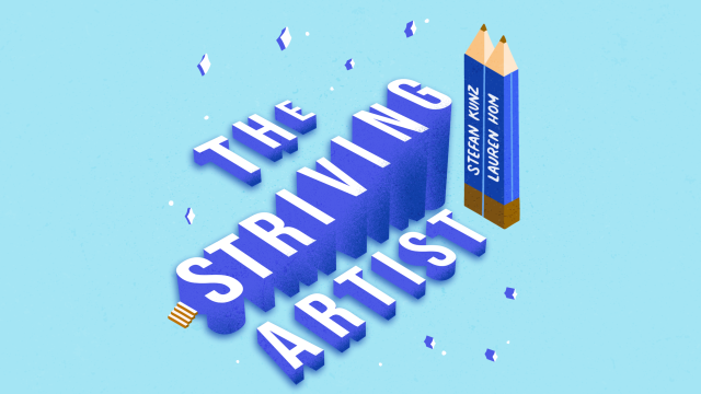 Striving Artist Podcast Animated Cover by Sonja Geracsek